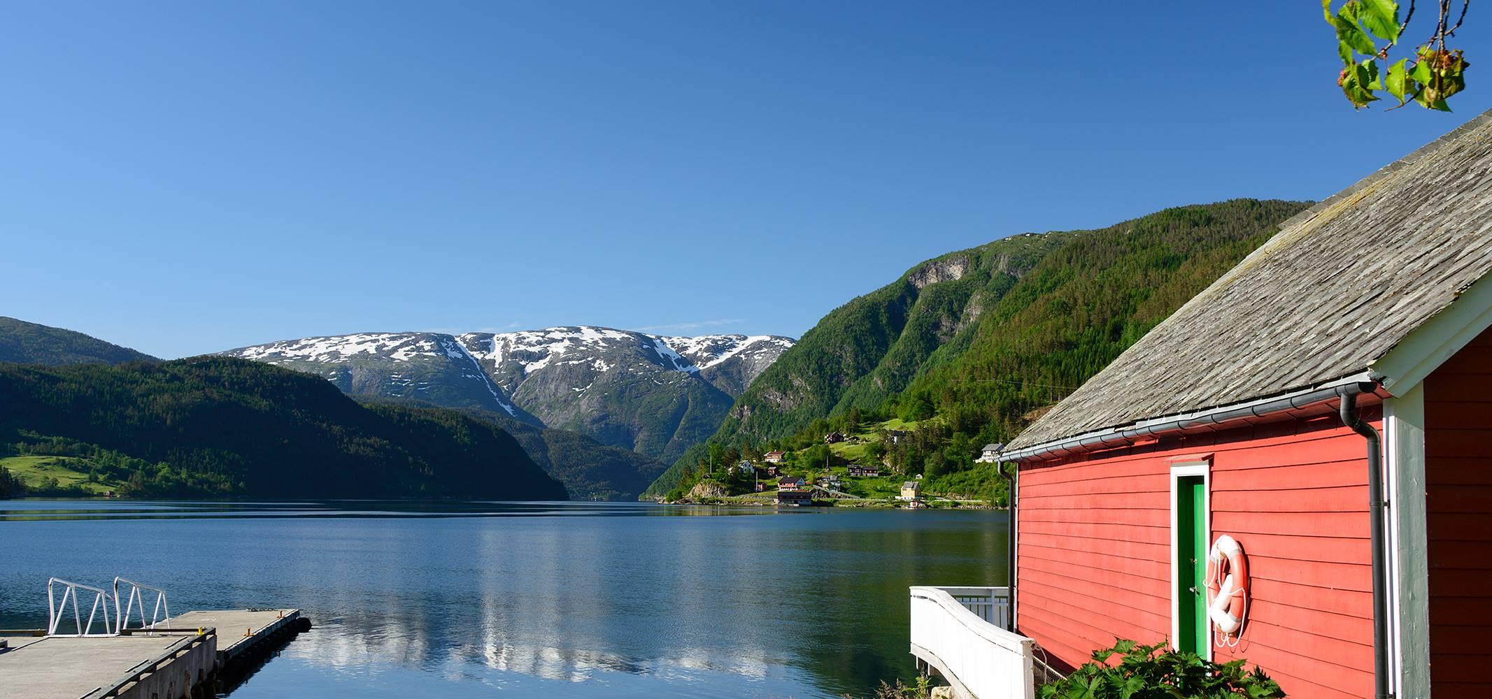 Bergen, Hardanger Fjord